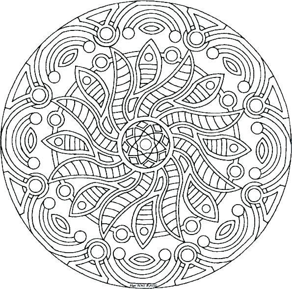 Intricate Coloring Pages For Kids  Intricate Coloring Pages For Kids at GetColorings