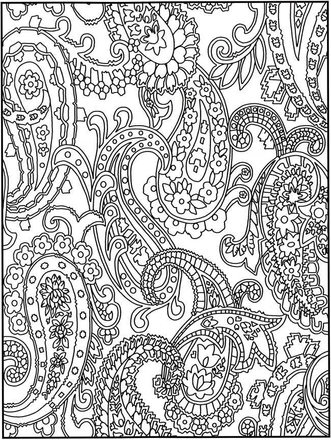 Intricate Coloring Pages For Kids  Intricate Design Coloring Pages Coloring Home