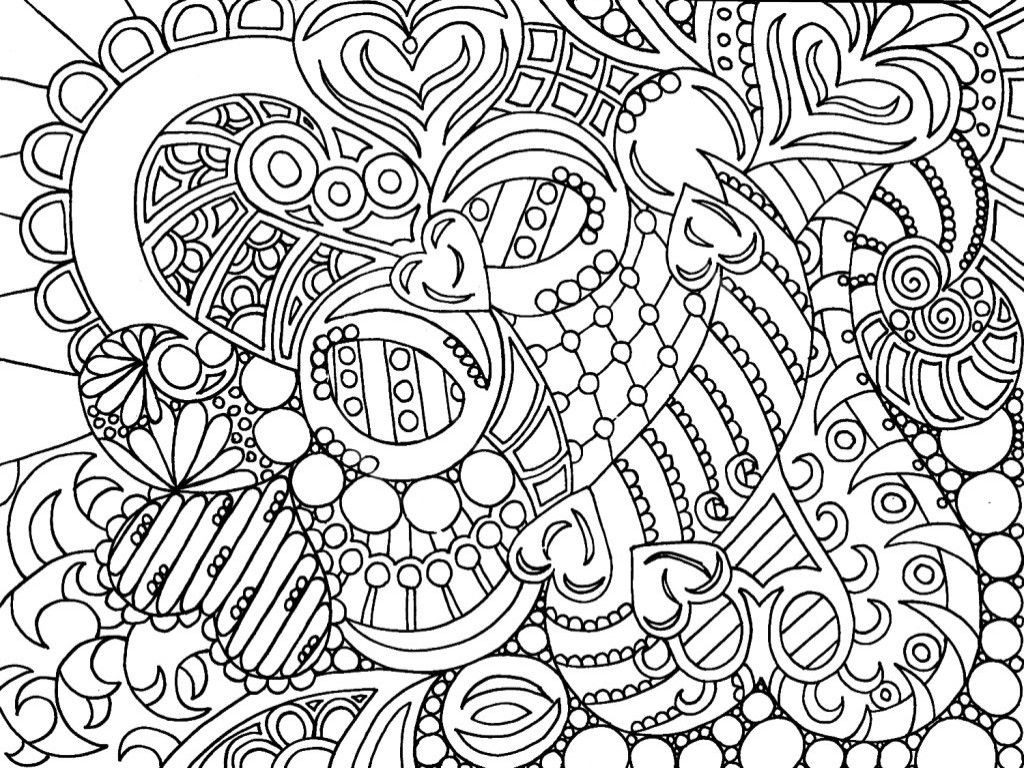Intricate Coloring Pages For Kids  Intricate Coloring Pages For Adults Coloring Home