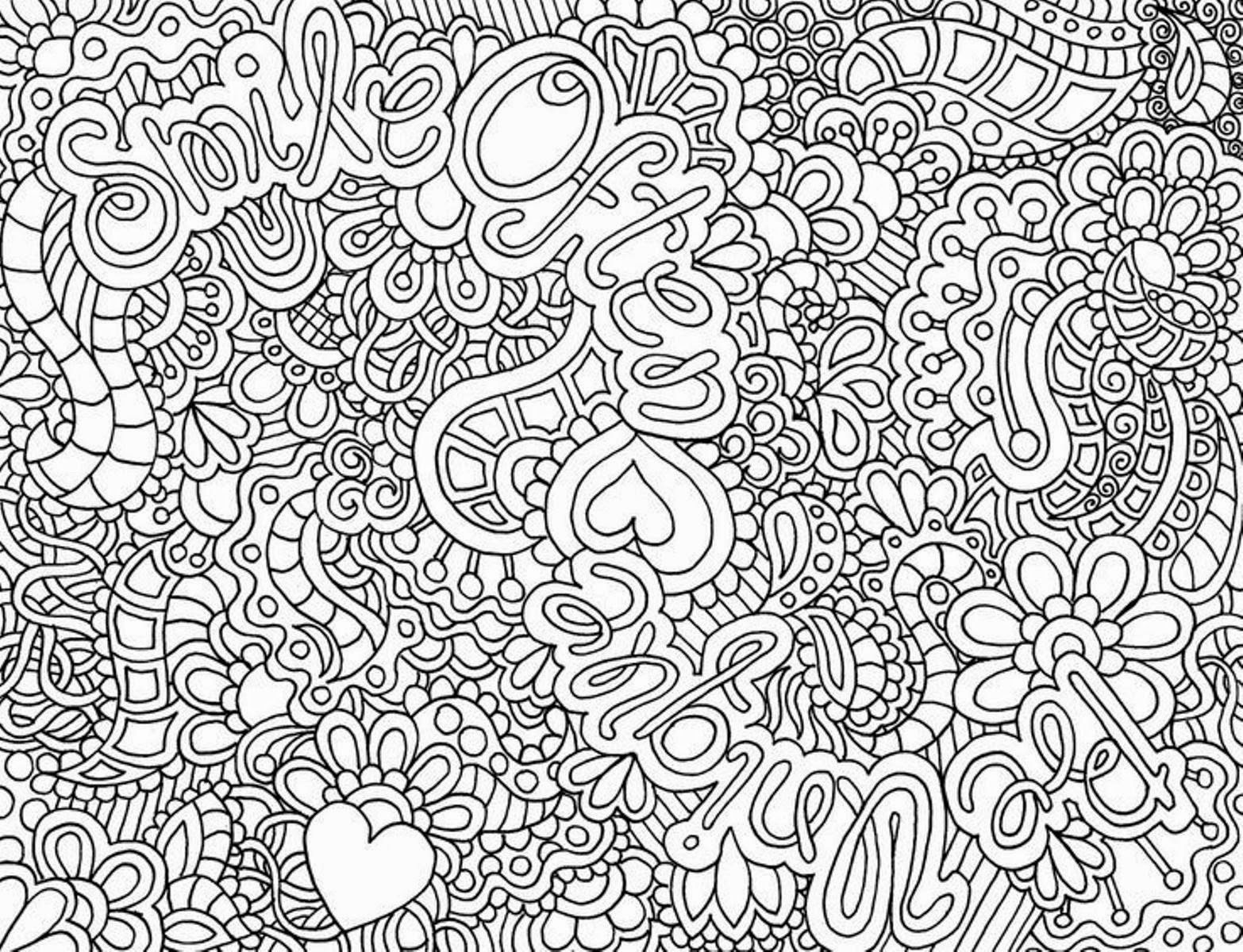 Intricate Coloring Pages For Kids  Coloring Pages Difficult but Fun Coloring Pages Free and