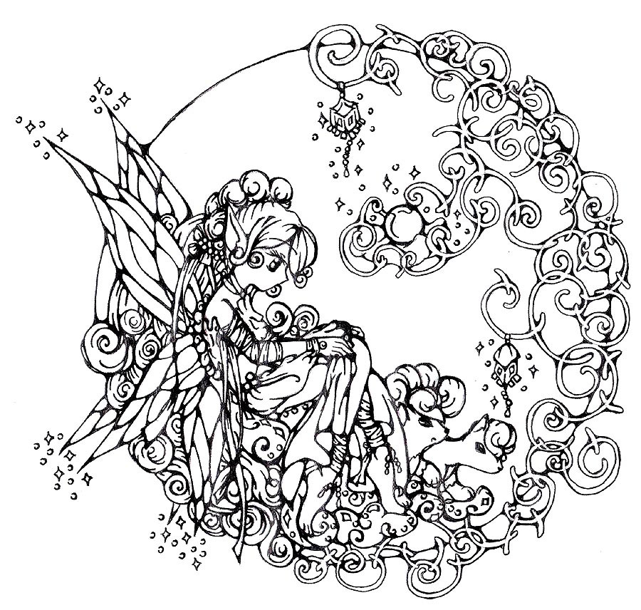 Intricate Coloring Pages For Kids  Difficult Coloring Pages For Older Children AZ Coloring