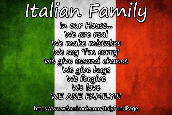 Italian Quotes About Family  Italian family