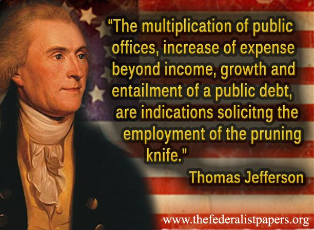 Jefferson Quotes On Education  Thomas Jefferson Quote The Multiplication of Public fices