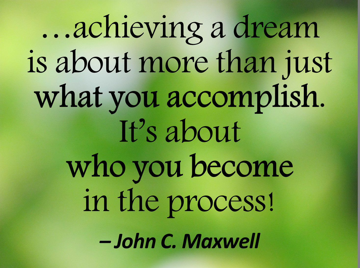 John Maxwell Quotes On Leadership  Do the work and keep showing up