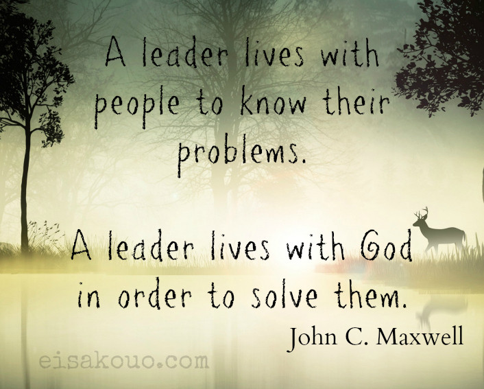 John Maxwell Quotes On Leadership  John Maxwell quote on leadership