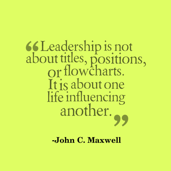 John Maxwell Quotes On Leadership  John Maxwell Quotes Influence QuotesGram
