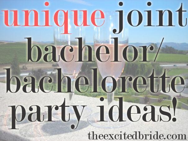 Joint Bachelor Bachelorette Party Ideas  17 Best images about Bachelorette Bachelor Party on