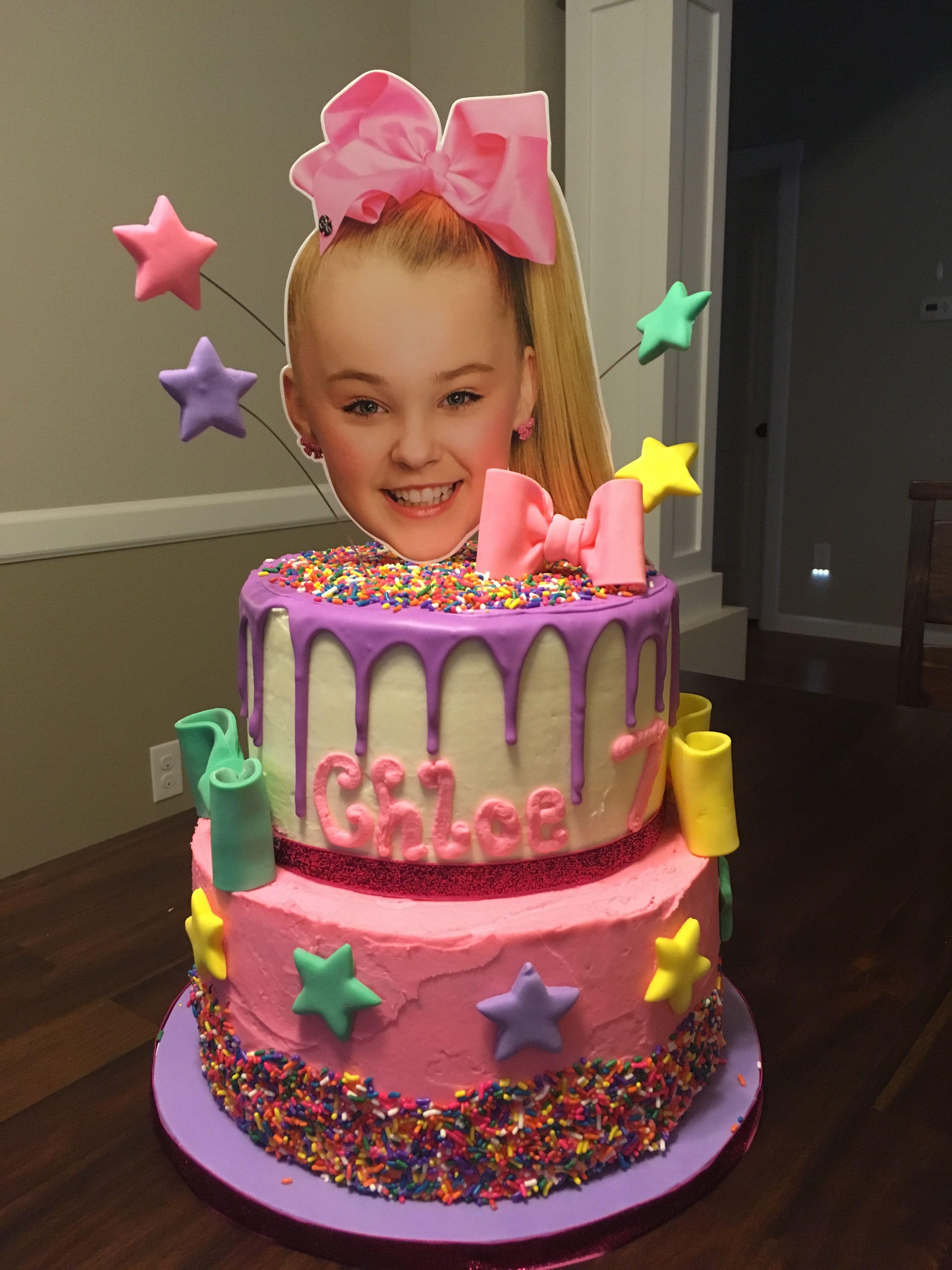 Jojo Siwa Birthday Cake  Jojo Siwa cake Baked by Jen