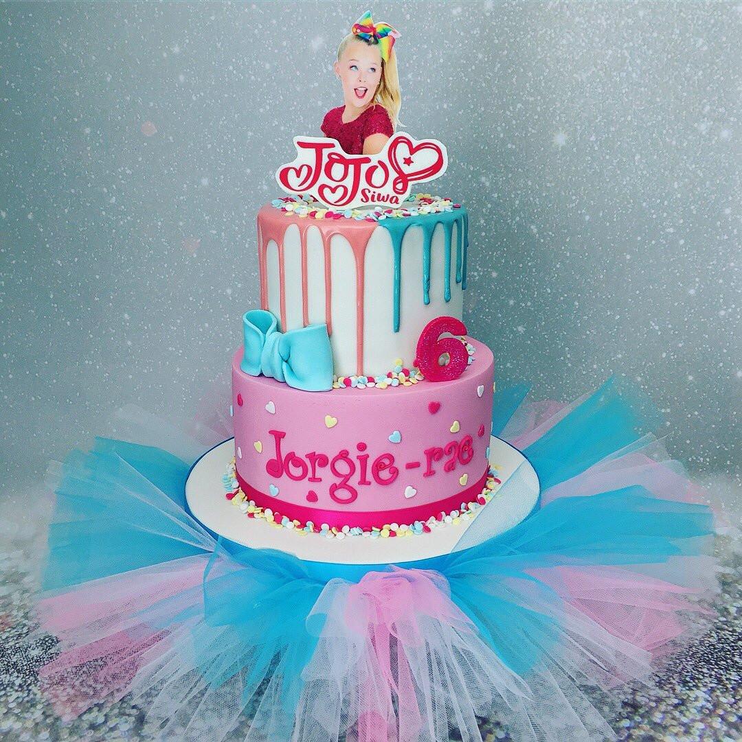 """Jojo Siwa Birthday Cake  Marias Cake Boutique on Twitter """"JoJo Siwa Birthday Cake"""