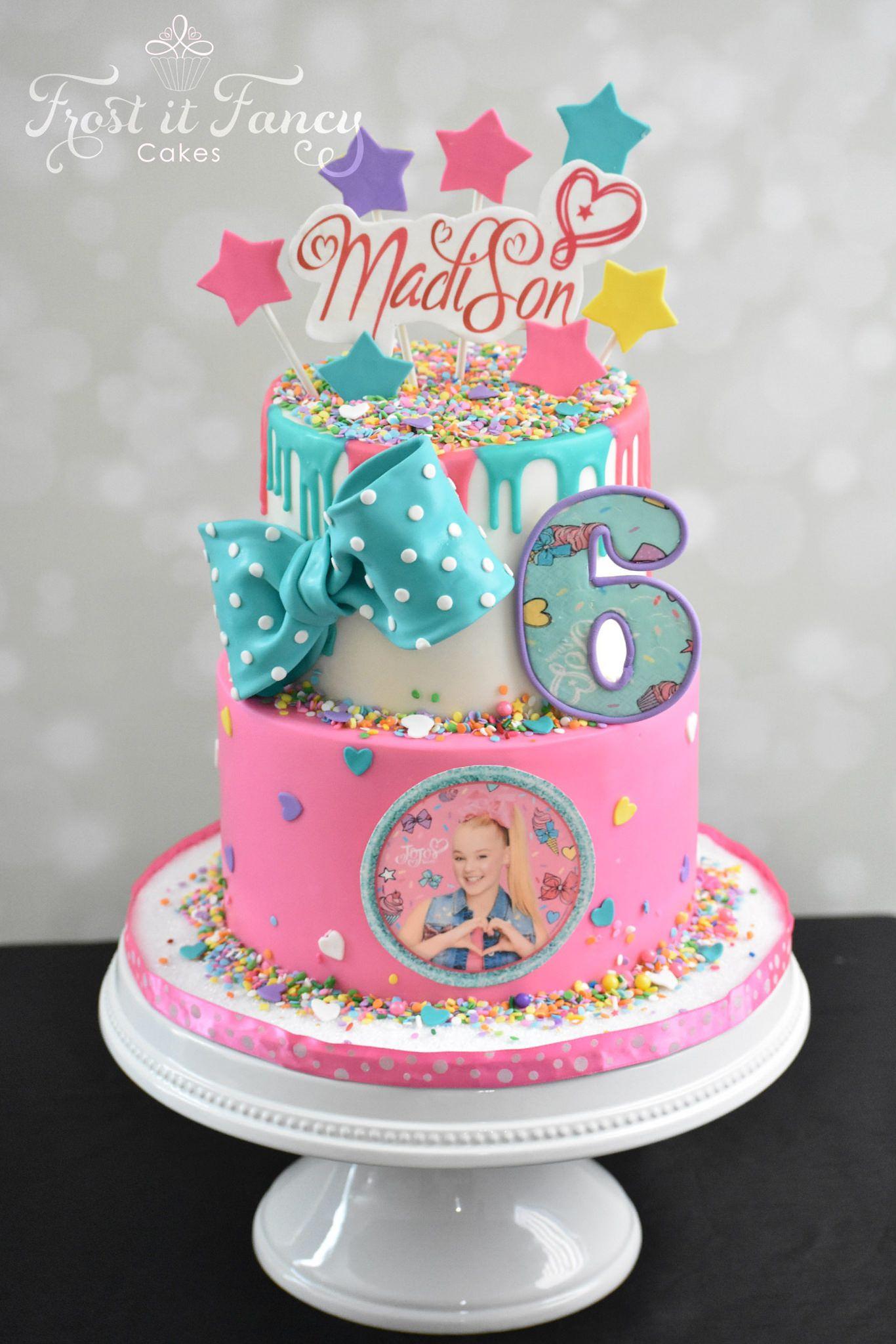 Jojo Siwa Birthday Cake  Happy Birthday Madison in 2019