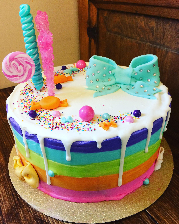 Jojo Siwa Birthday Cake  I made a Jojo Siwa cake CAKEWIN