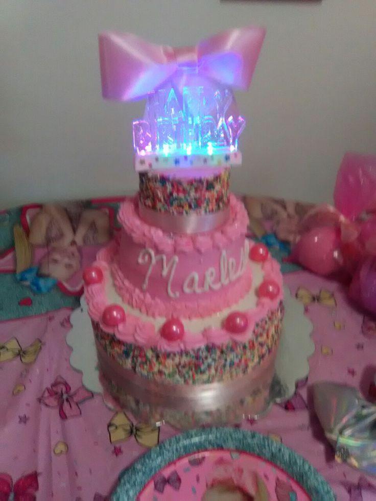 Jojo Siwa Birthday Cake  Best 25 Jojo siwa birthday ideas on Pinterest