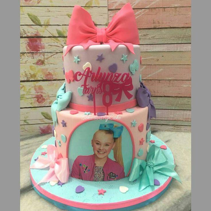Jojo Siwa Birthday Cake  Jojo Siwa 2 tier Birthday Cake