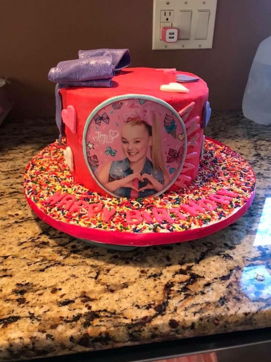 Jojo Siwa Birthday Cake  Jojo Siwa Birthday Cake CakeCentral