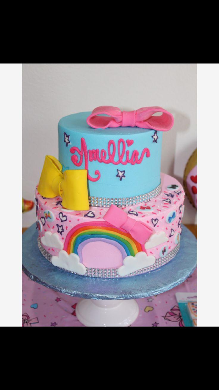 Jojo Siwa Birthday Cake  Best 25 Jojo siwa birthday cake ideas on Pinterest