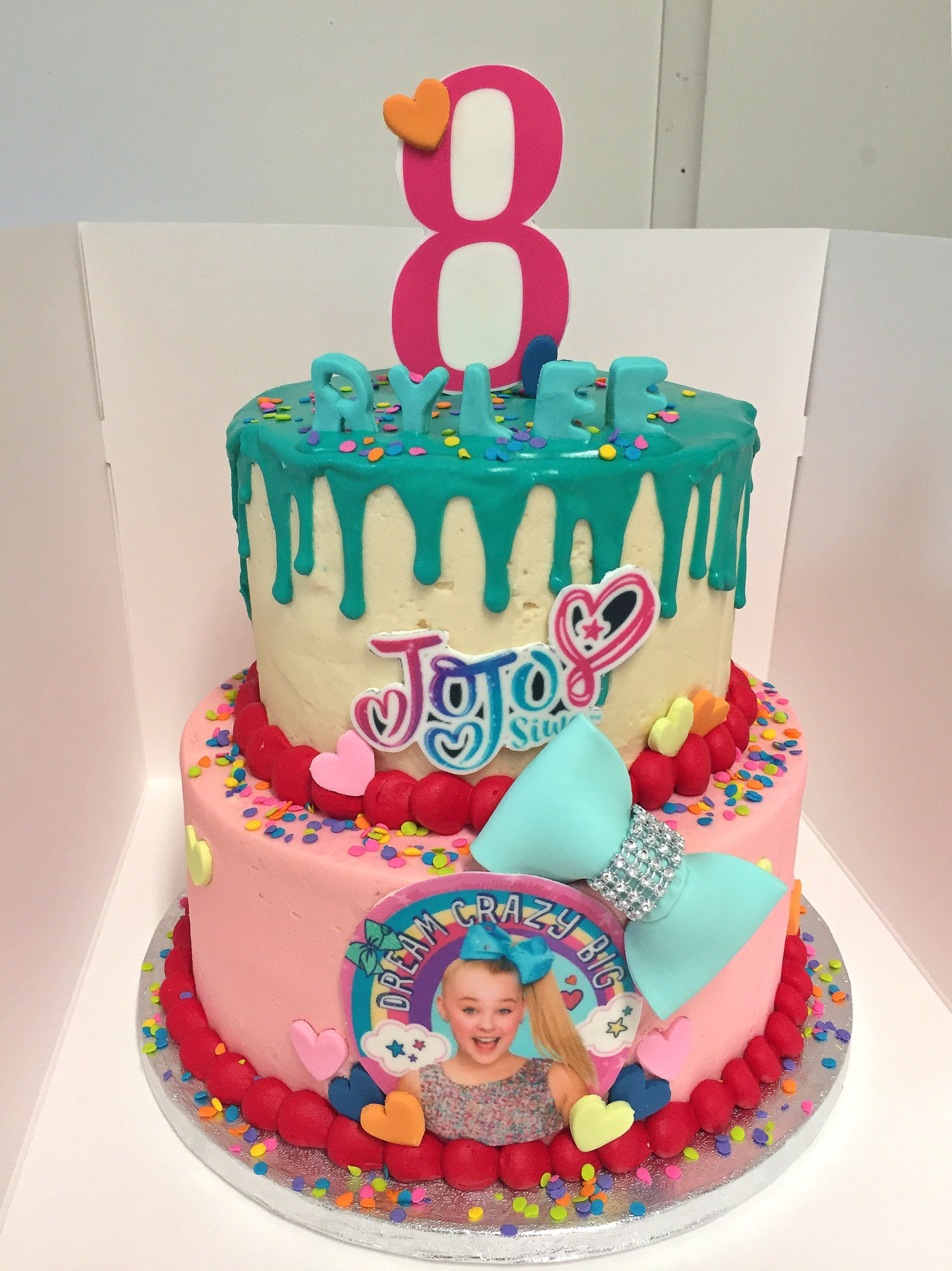Jojo Siwa Birthday Cake  Jojo siwa cake Art in 2019