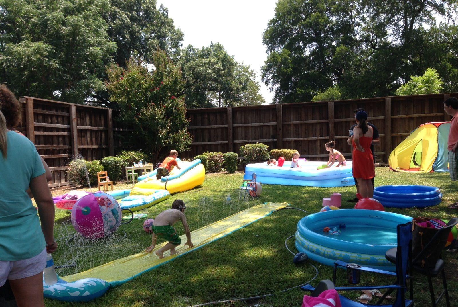 Kids Backyard Birthday Party Ideas  Backyard set up Future Birthday Party Ideas