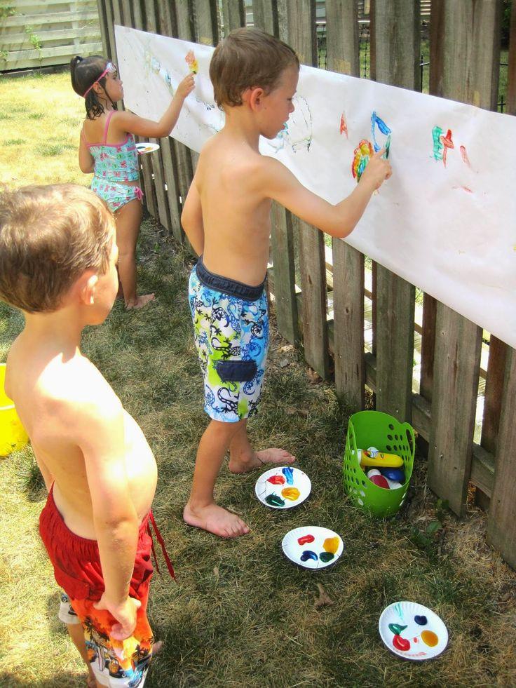 Kids Backyard Birthday Party Ideas  Milk Allergy Mom Graham s 5th Birthday A Backyard Water