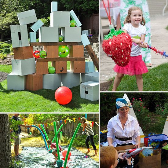 Kids Backyard Birthday Party Ideas  165 best Outdoor Kids Party Ideas images on Pinterest