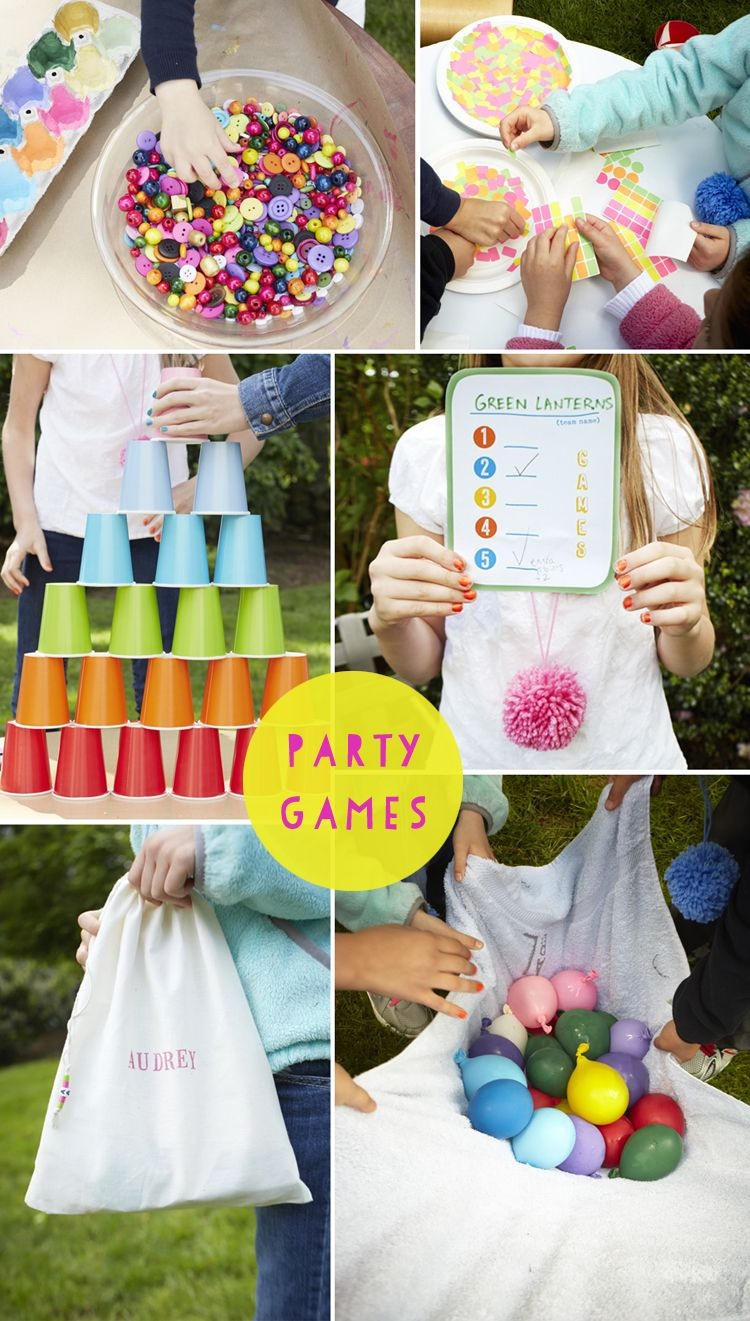 Kids Backyard Birthday Party Ideas  Backyard Birthday Parties on Pinterest