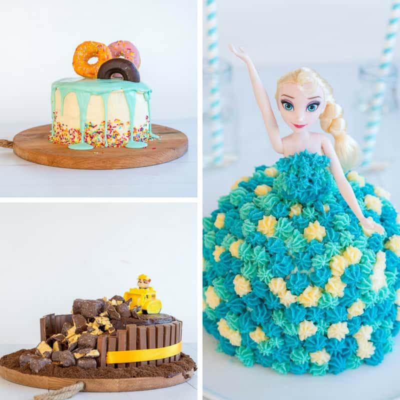Kids Birthday Cake Recepies  Easy DIY Birthday Cake Ideas for Children video tutorials