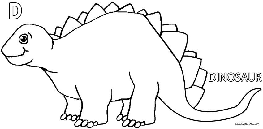 Kids Coloring Pages Dinosaur  Printable Dinosaur Coloring Pages For Kids