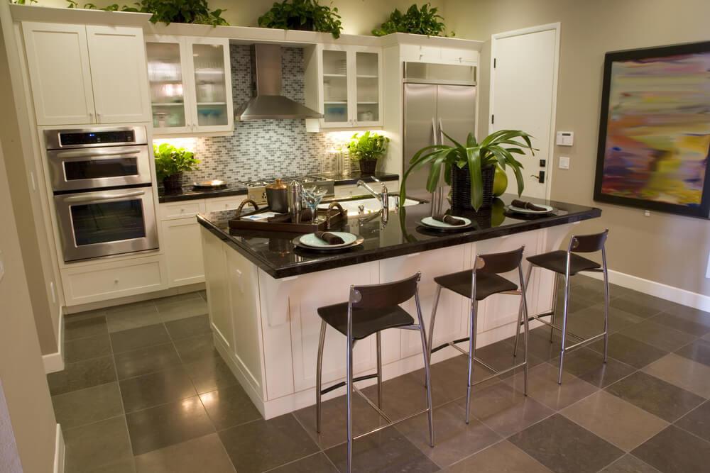 Kitchen Island Ideas For Small Kitchens  45 Upscale Small Kitchen Islands in Small Kitchens