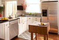 Kitchen island Ideas for Small Kitchens Awesome Small Space Kitchen island Ideas Bhg