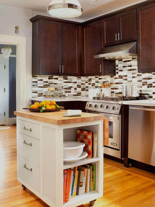 Kitchen Island Ideas For Small Kitchens  20 Big Ideas for Small Kitchens