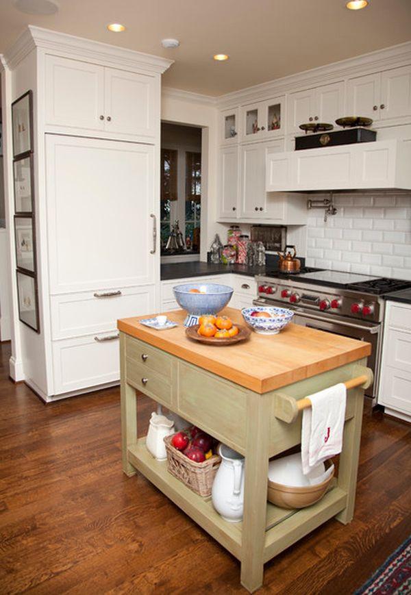 Kitchen Island Ideas For Small Kitchens  31 Creative Small Kitchen Design Ideas