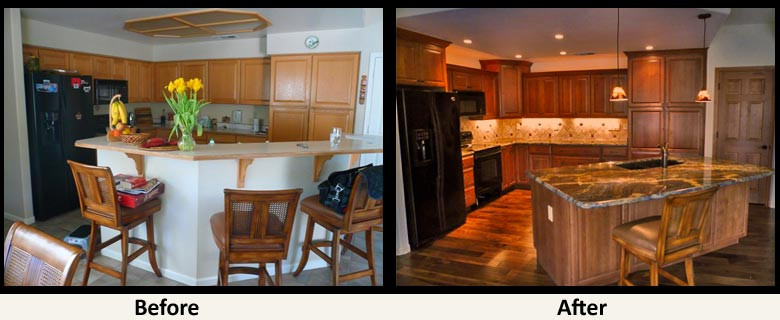 Kitchen Remodel Before And After  17 November 2012