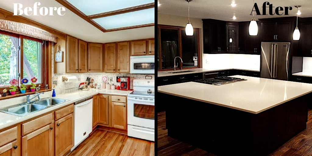 Kitchen Remodel Before And After  Galley Kitchen Remodel Before and After a Bud