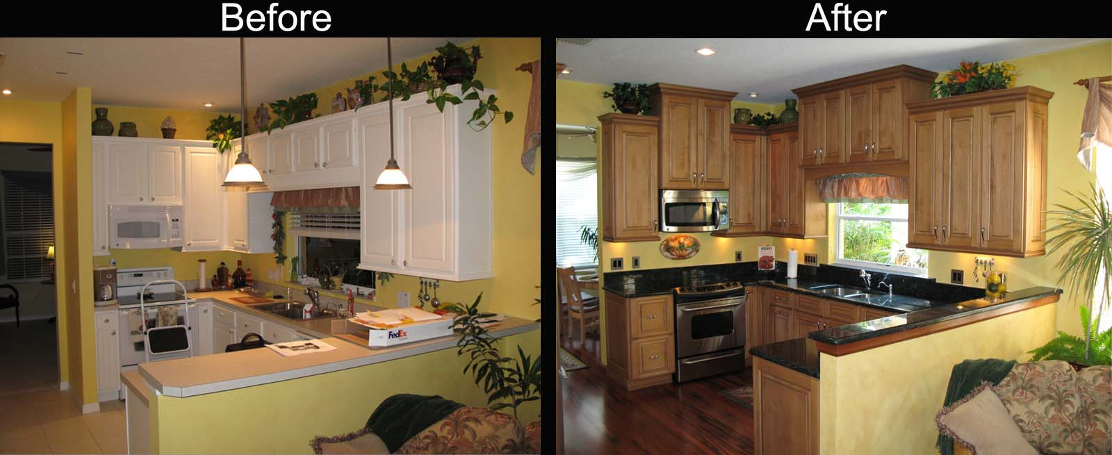 Kitchen Remodel Before And After  Kitchen Decor Kitchen Remodel Before And After