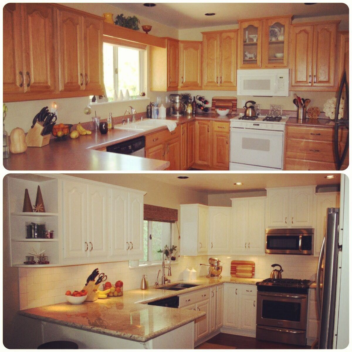 Kitchen Remodel Before And After  Before and after kitchen remodel For the Home