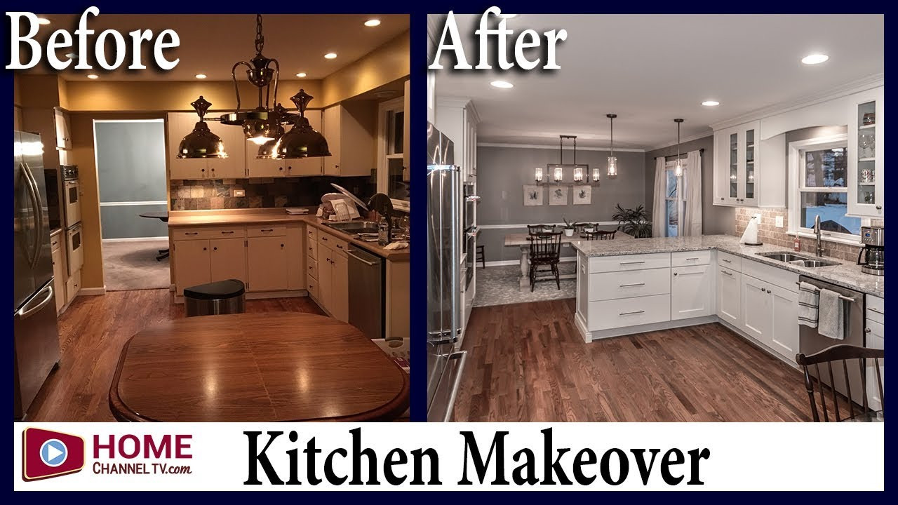 Kitchen Remodel Before And After  Kitchen Remodel Before & After