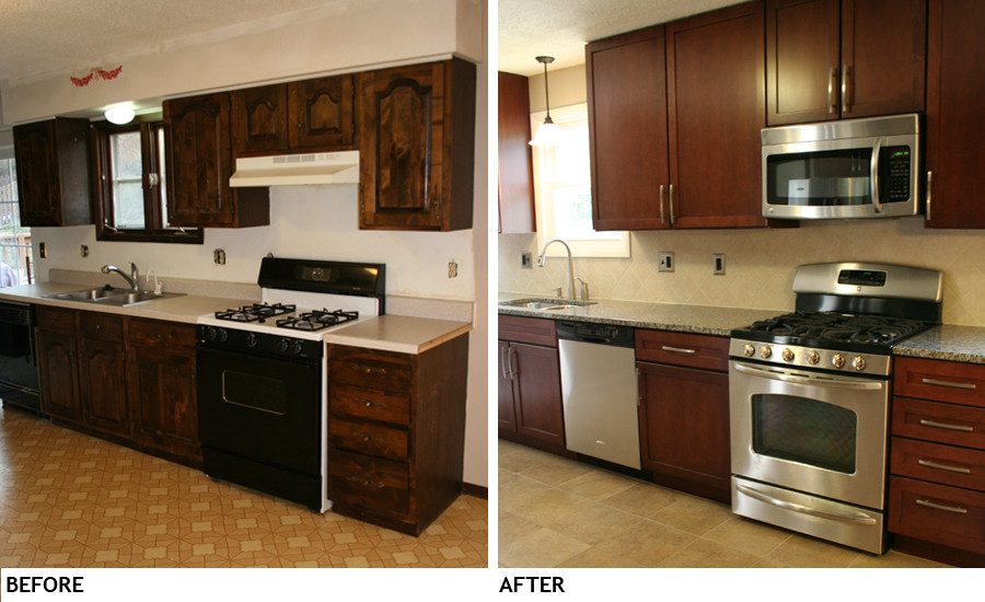 Kitchen Remodel Before And After  Kitchen Remodels Before And After s