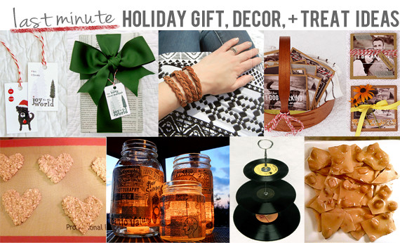 Last Minute Holiday Gift Ideas  Bubby and Bean Living Creatively Last Minute Holiday