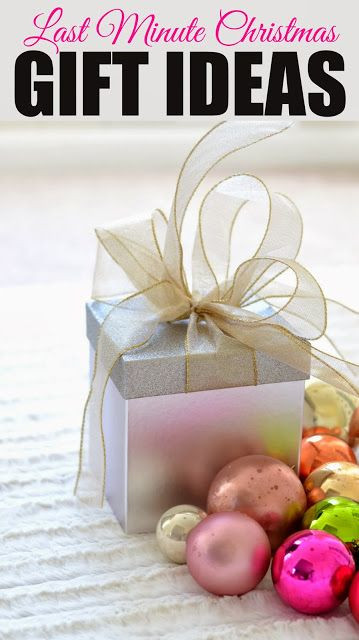 Last Minute Holiday Gift Ideas  25 best ideas about Last minute christmas ts on