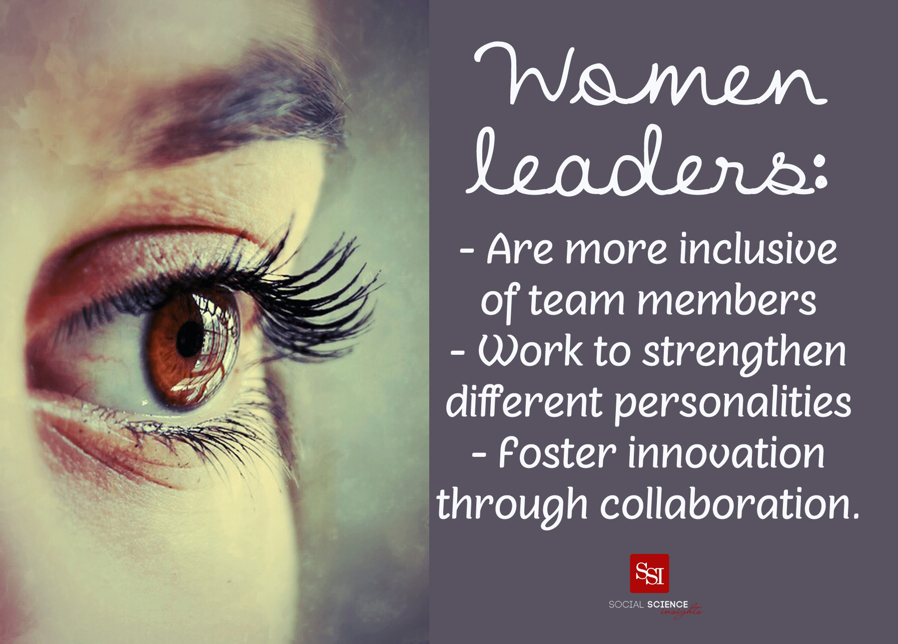 Leadership Quotes By Women  Why Women's Leadership is a Business Asset