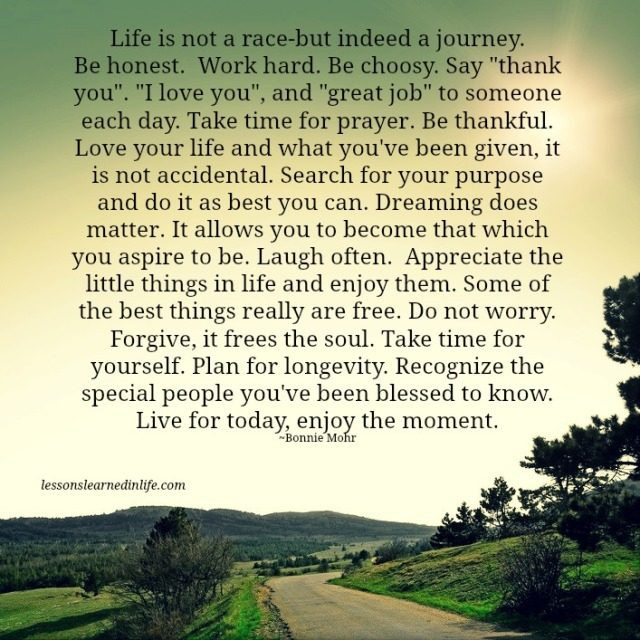 Life Is A Race Quotes  Lessons Learned in LifeLiving life Lessons Learned in Life