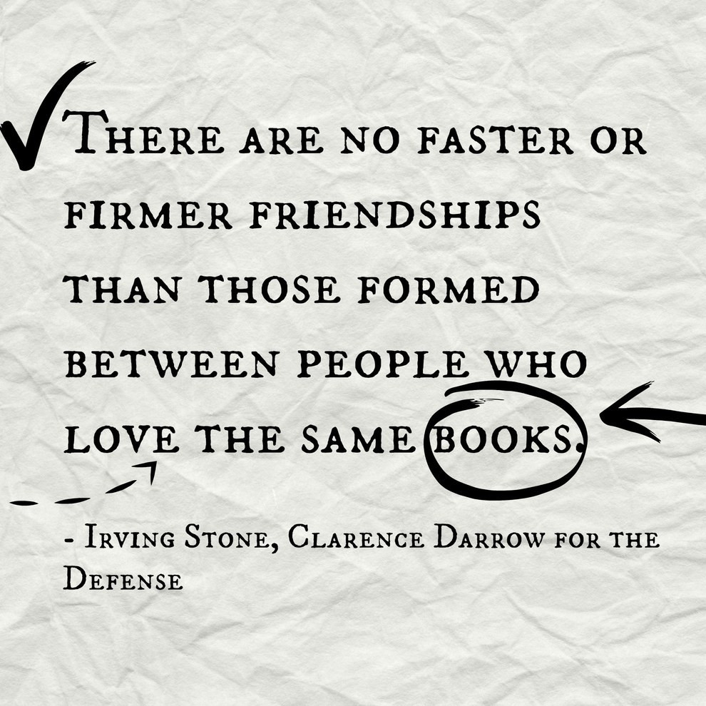 Literary Quotes About Friendship  15 Book Quotes That Perfectly Describe Friendship