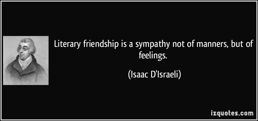 Literary Quotes About Friendship  Literary Quotes Friendship QuotesGram
