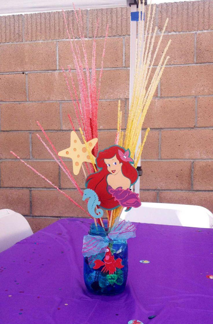 Little Mermaid Party Centerpiece Ideas  Little Mermaid centerpiece