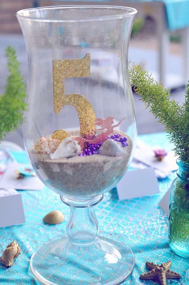 Little Mermaid Party Centerpiece Ideas  25 best ideas about Little Mermaid Centerpieces on