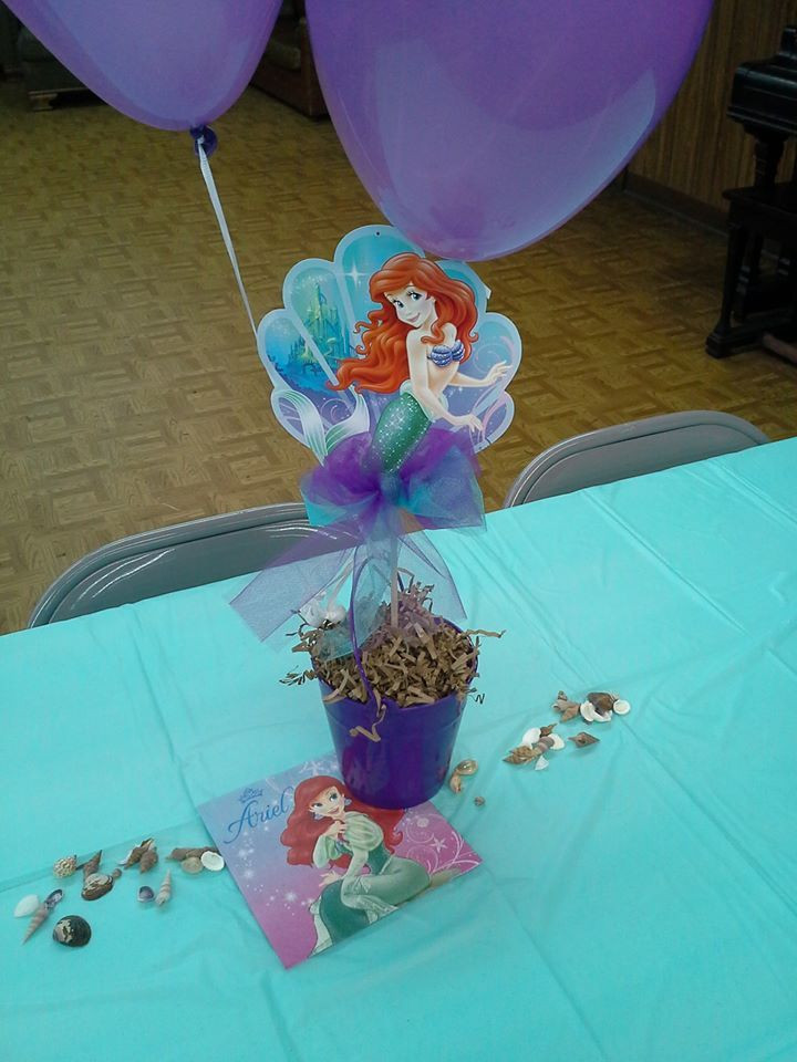 Little Mermaid Party Centerpiece Ideas  Best 25 Little mermaid centerpieces ideas that you will