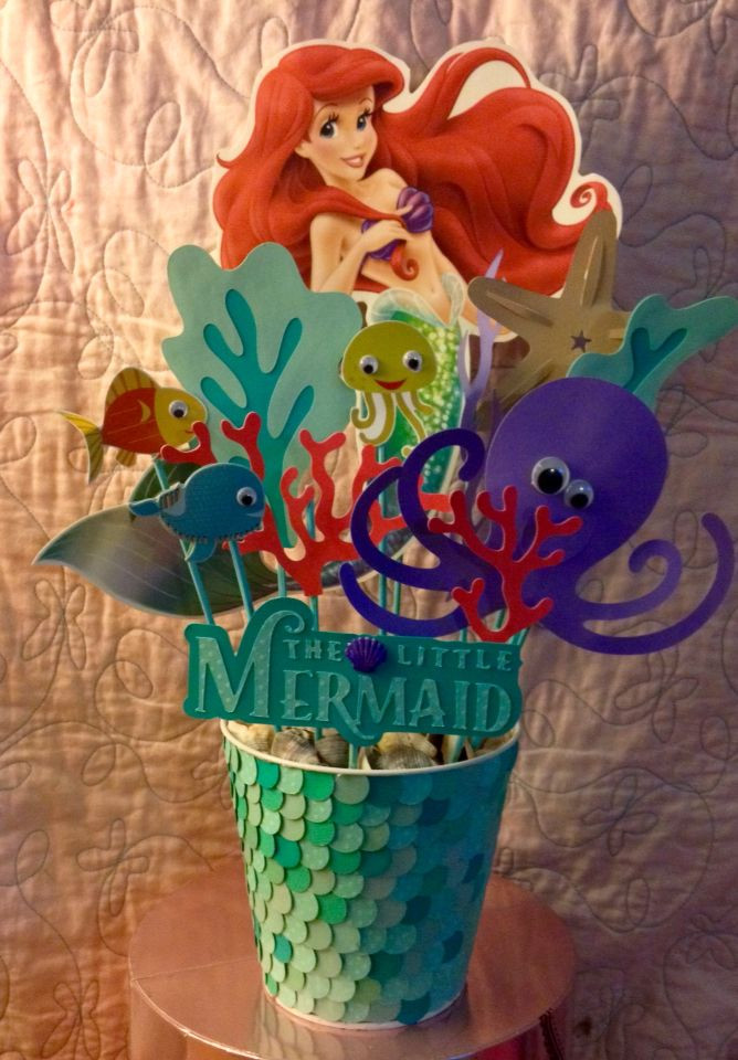 Little Mermaid Party Centerpiece Ideas  Best 25 Little mermaid centerpieces ideas on Pinterest