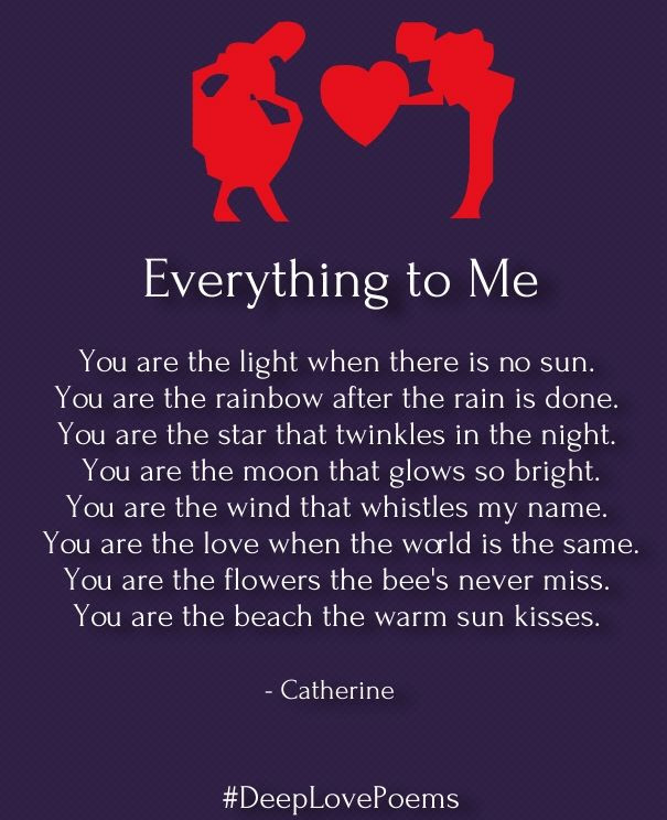 Love Poems And Quotes  Deep Love Poems for Him – Very Heart Touching