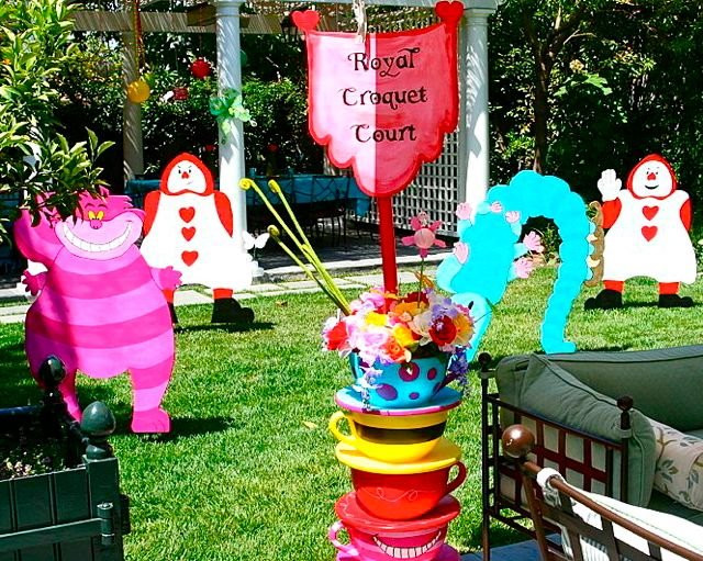 Mad Hatter Tea Party Decoration Ideas  Alice in Wonderland party ideas