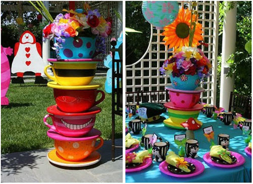 Mad Hatter Tea Party Decoration Ideas  Tea Party Bridal Shower