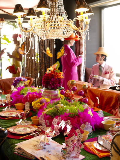 Mad Hatter Tea Party Decoration Ideas  Halcyon Days Wel e to a Mad Hatter s Tea Party